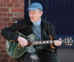 Chris Busking In St Albans